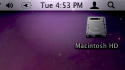 Modify the default clock in OS X\'s menu bar to show the full date