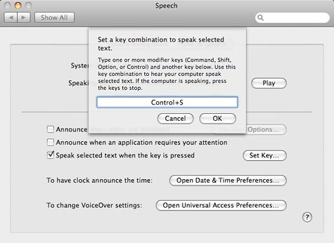 Tired of reading? Let your Mac do it for you with Text to Speech