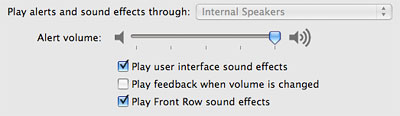 Silence audio feedback when adjusting volume on a Mac