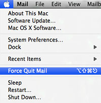 Force Quit programs in Mac OS X