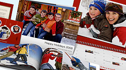 Use iPhoto\'s built-in tools to order last-minute printed holiday gifts
