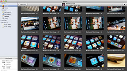 Organize your iPhoto library by batch changing titles and dates