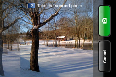 Take panoramic photos on your iPhone with Pano