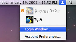 Paranoid? Quickly lock your Mac\'s screen while staying logged in