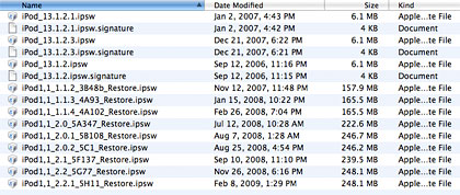 iPod Software Updates