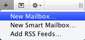 Setting up mailboxes in Apple Mail