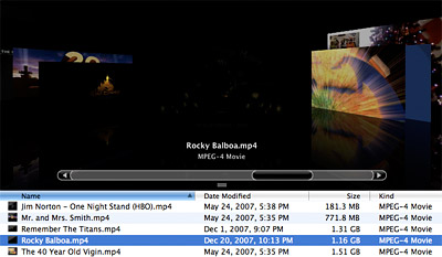 How to choose a video thumbnail in Mac OS X