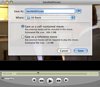 Merge movies for free with QuickTime