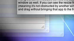 Manipulate background windows in OS X without selecting them