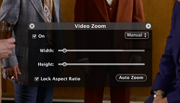 Video Zoom in DVD Player