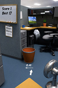 Paper Toss for iPhone