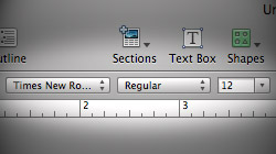 Change default font in Office 2008's Word and iWork '09's Pages