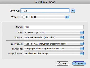 Encrypt USB flash drive for Mac