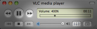 Make Mac laptop speakers louder in VLC