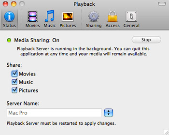 Playback - Stream media from Mac to PS3 or Xbox 360