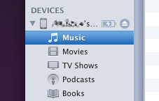 Play media from any iPod, iPhone, or iPad in iTunes 10