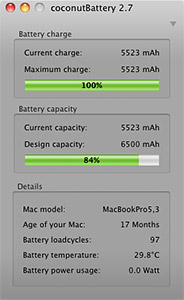 Check Mac battery health