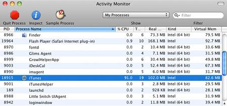 Pause a process in Mac OS X