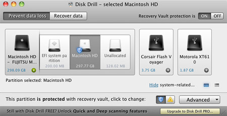 Disk Drill data recovery software for Mac