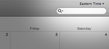 Change time zone in iCal