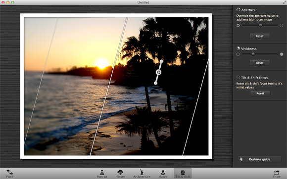 Focus: Add depth and lens blur to photos on Mac App Store