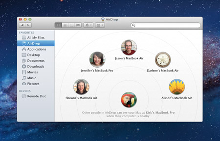 How to use AirDrop over Ethernet and on older Macs running Lion