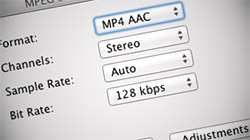 Extract audio from any video file on a Mac