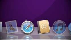 Make hidden app icons translucent in your Mac's Dock