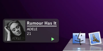 iTunes notifications with SizzlingKeys