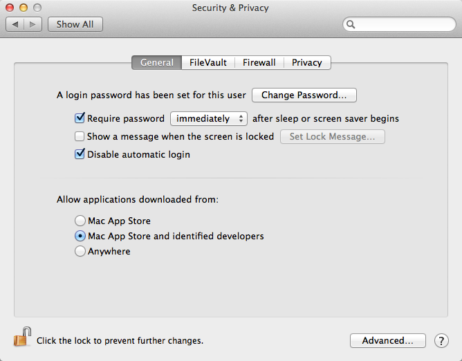 Gatekeeper in Mac OS X 10.8 Mountain Lion