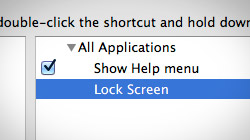 How to lock your Mac screen with a keyboard sh