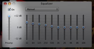 Make Mac laptop speakers louder in iTunes