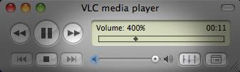 Make Mac laptop speakers louder in VLC